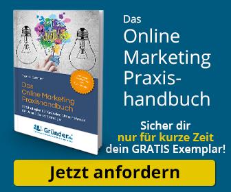 Gratis-Exemplar das Online-Marketing Praxis-Handbuch