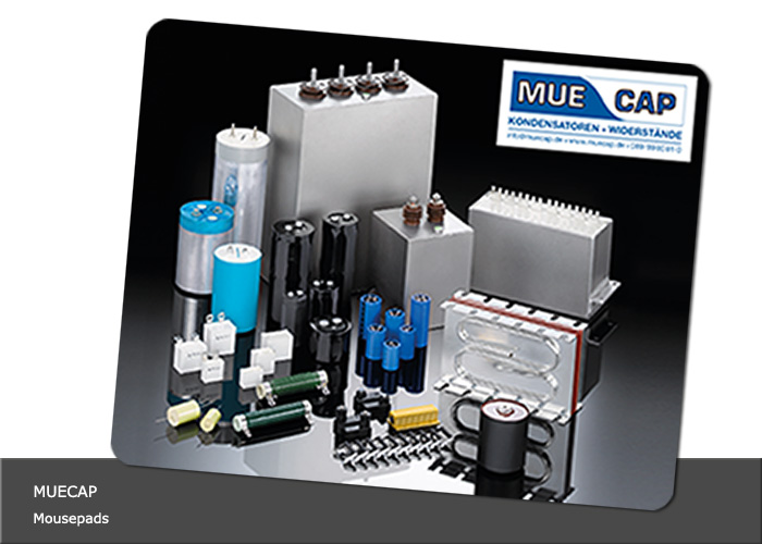 Gestaltung Mousepad MUECAP