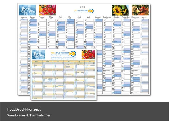 Kalender-Design