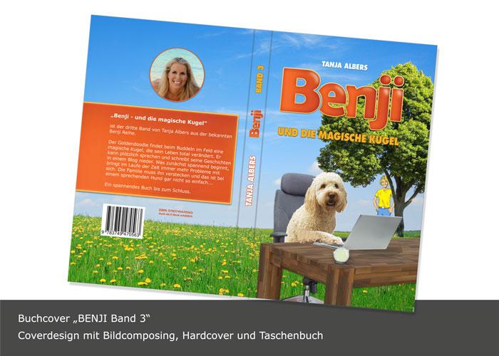 Buchcover Design mit Bildcomposing