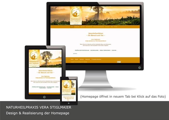 Webdesign Naturheilpraxis Einfach sein