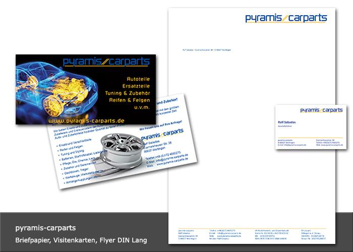 Design Flyer, Visitenkarten, Briefpapier
