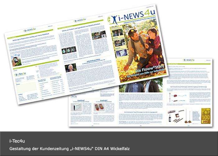 Layout & Design Kundenzeitung